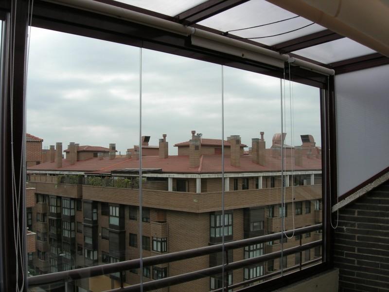 Cortinas cristal madrid cerramientos sin perfiles majadahonda - Precio de cortinas de cristal ...