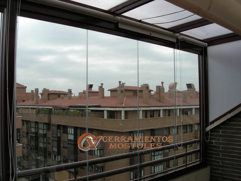 Cortinas cristal madrid cerramientos sin perfiles - Fabricas de cristal en espana ...
