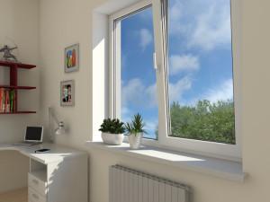 ventana de PVC