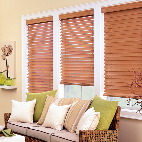 Chalet Woods wood blinds - Venecianas