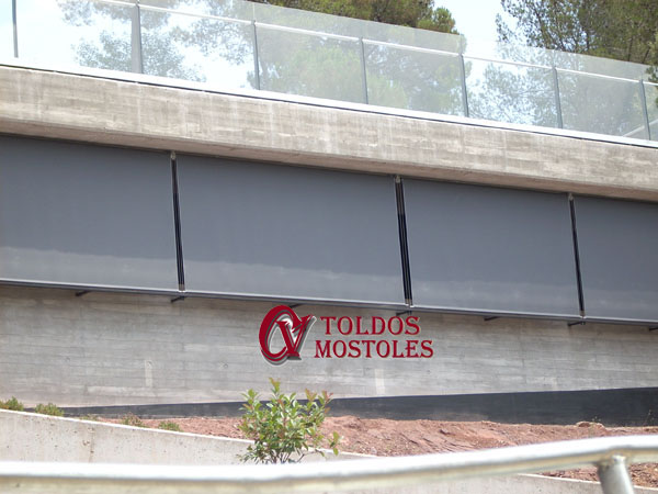 toldo vertical cable madrid