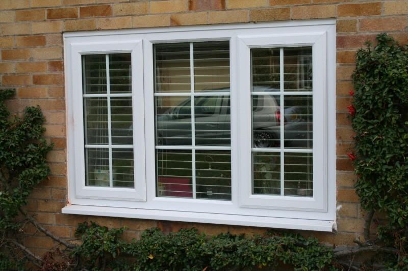 ventanas de aluminio blancas