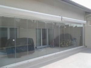 cortina de cristal en Villanueva de la Cañada