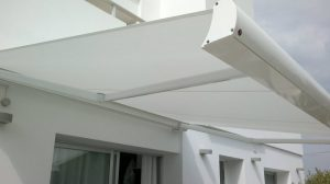 Toldo cofre extensible en Madrid